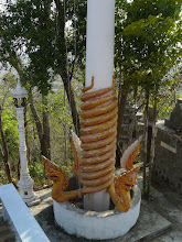Photo: Nagas at the high temple
