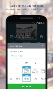 JustPark Parking- screenshot thumbnail