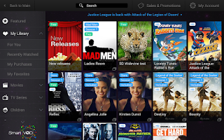 Screenshot of SmartVOD (Aflix)