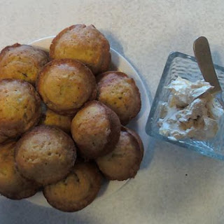 Banana Muffins With Cinnamon Butter