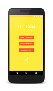 Text Faces - Emoji Keyboard- screenshot thumbnail