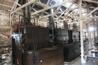 Photo: the power plant did go in flames eventually but they spent 1.5 million to restore it to keep on mining.