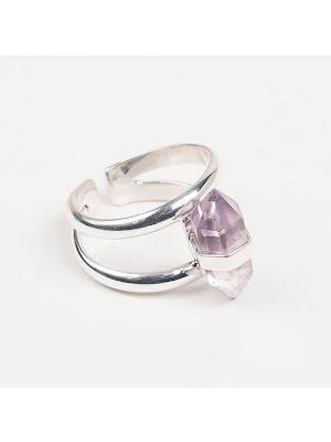 Ring Cornelia Webb silver Ametistspets