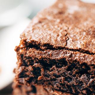 6 Ingredient Espresso Brownies.