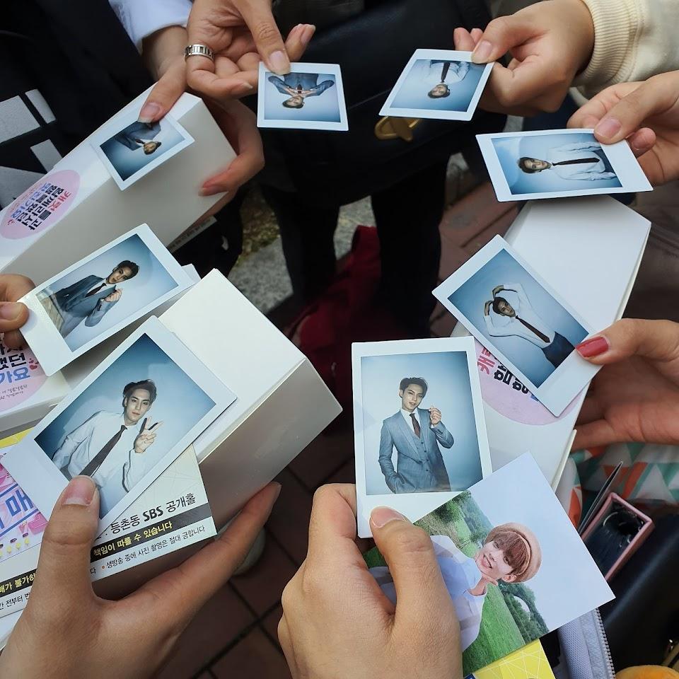 mingyu polaroids