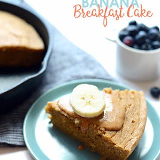 Banana Breakfast Cake.