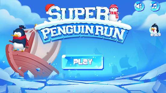 Super Penguin Run - náhled