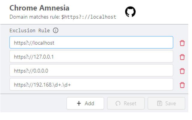 Chrome Amnesia