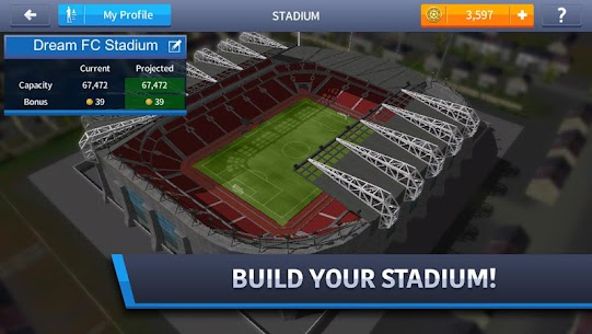 Dream League Soccer 4.15 MOD (Unlimited Money) Apk + Data 5