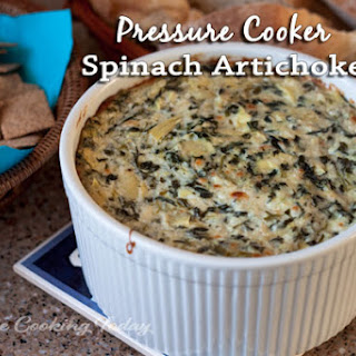 Spinach Artichoke Dip in the Pressure Cooker