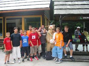 Photo: 2005 Pioniri  U parku Golubinjak Na izletu u Lokvama 26.6.2005.