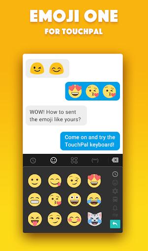 Emoji One TouchPal Plugin  screenshots 2