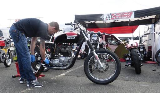 Le stand Machines et Moteurs à l'Iron Bikers 2015.