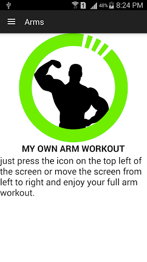 full arm workout