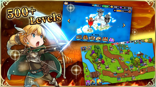 Crazy Defense Heroes: Tower Defense Strategy TD 1.1.2 APK MOD screenshots 1