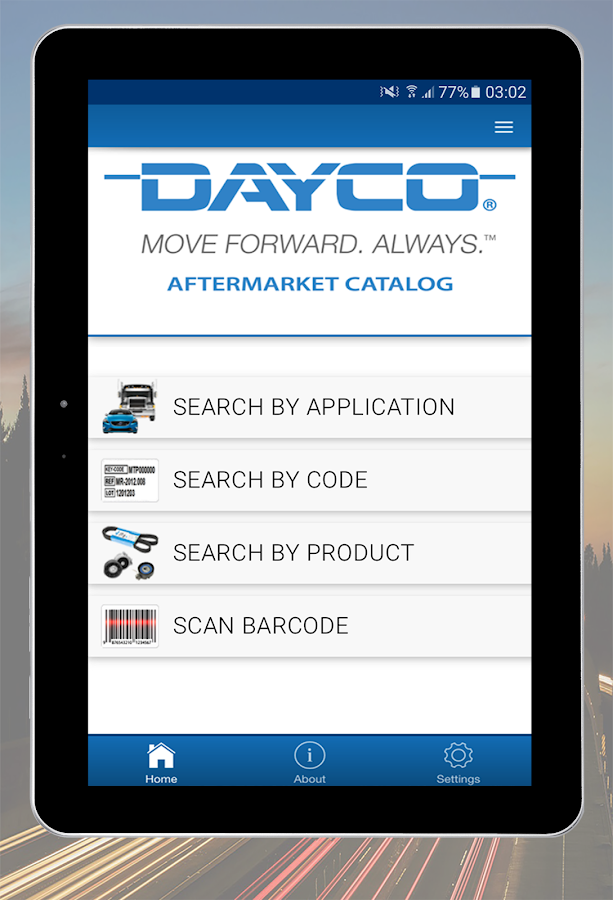 Dayco Catalog- screenshot