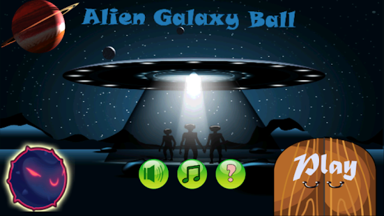 Alien Galaxy Ball - náhled
