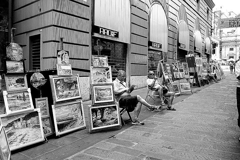 La strada degli artisti di Naldina Fornasari