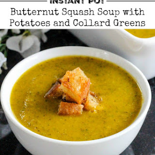 Butternut Squash, Potato & Collard Green Soup