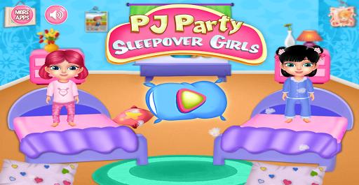PJ Party Sleepover Girls Game 1.0.1 screenshots 1