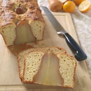 Pear & Meyer Lemon Bread.