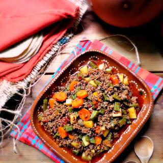 Ground Beef Picadillo Recipe