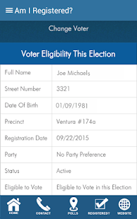 Ventura County Elections- screenshot thumbnail