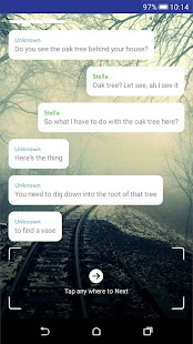 TapTale - Free Scary, Lure & Hooked Chat Stories - náhled