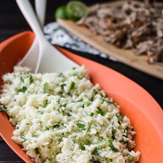 Garlic and Cilantro Cauliflower Rice Recipe