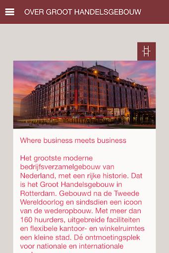 Groot Handelsgebouw OfficeApp