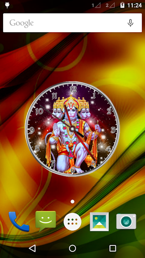 Lord Hanuman Clock