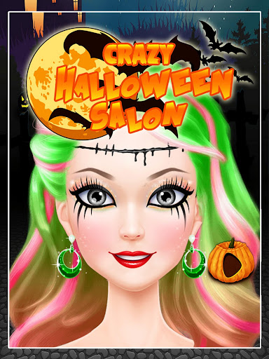 Crazy Halloween Salon Screenshot