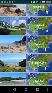 Gower Beach Guide- screenshot thumbnail