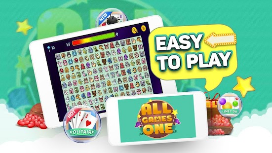 All Games in 1: 101 Free Mini Classic Games - náhled