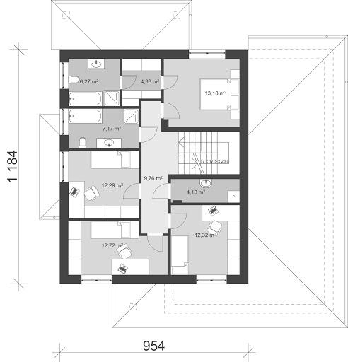 UA61 - Rzut piętra