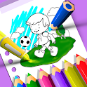 Draw And Color - Kids Learning Fun icon