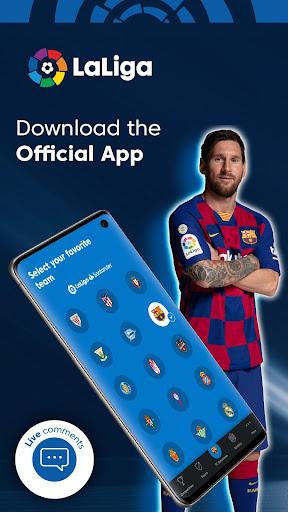 La Liga - Live Soccer Scores, Goals, Stats & News Screenshots 1