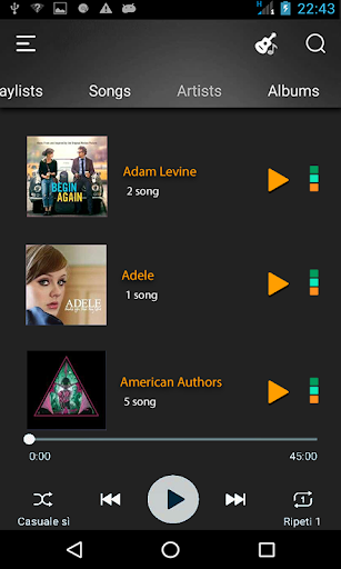 Music Player Free Audio Mp3 Player screenshot 2