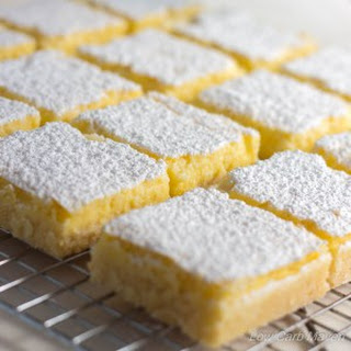 Favorite Low Carb Lemon Bars
