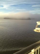 Photo: En magiskt vacker morgon förde oss in mot Stockholm - tack för en trevlig resa!