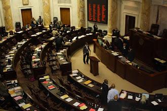 Photo: The legislature in session :)