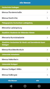 Mensa Stuttgart - náhled