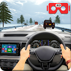 VR Traffic Racing In Car Driving: juegos virtuales icon