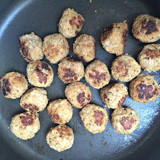 Simple Turkey Meatballs.
