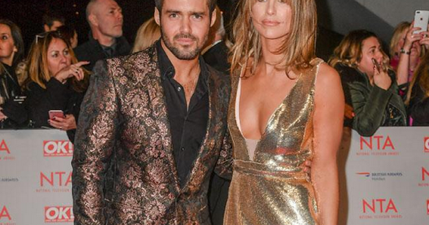 Vogue Williams struggled with morning sickness