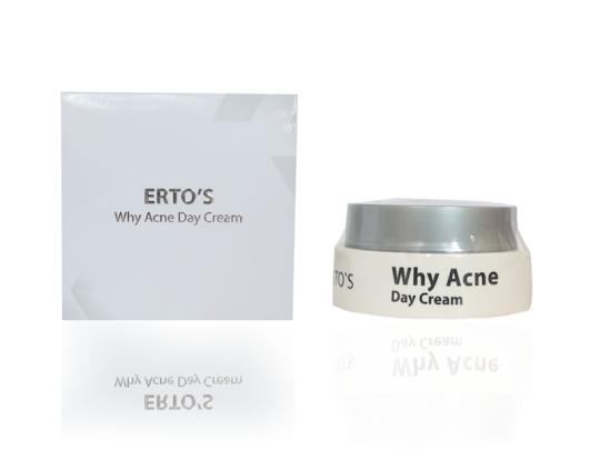 Krim Siang Jerawat Ertos Acne Day Cream ertos krim siang untuk kulit berjerawat mengeringkan jerawat mengatasi iritasi wajah