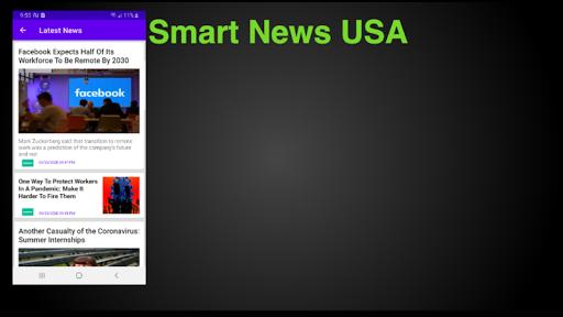 Smart News USA - !! Play !! Watch !! View !! screenshots 10
