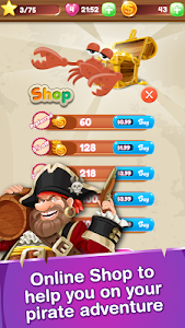 Pirate King's Treasure v1.11 Mod Coins + Lives