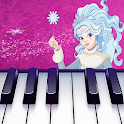 Pink Piano Tiles - Ice Queen Magic Game icon