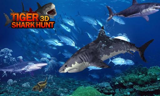Tiger Shark Hunt 3D